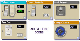 icons active home